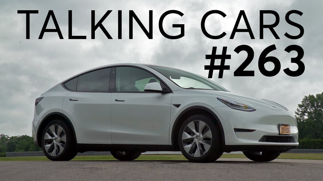 2020 Tesla Model Y First Impressions | Talking Cars with Consumer Reports #263