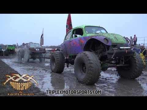 SLUG BUG vs. MUSTANG TUG OF WAR and 2.5 TON!!