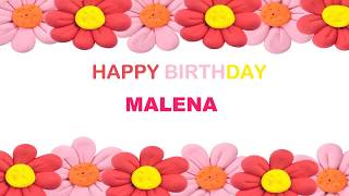 Malena   Birthday Postcards & Postales - Happy Birthday