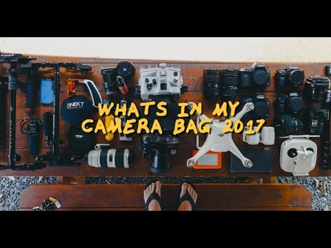 WHAT'S IN MY CAMERA BAG? 2017 - JAKOB OWENS
