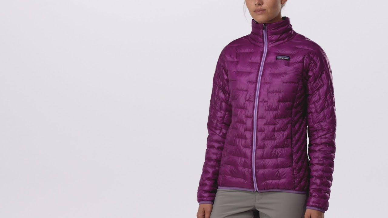 3977d79e982fd Patagonia Women s Micro Puff® Jacket - YouTube