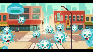Corona Virus Cartoon Short Story | covid-19