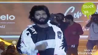 Vijay devarakonda entry   Dear Comrade Music Festival