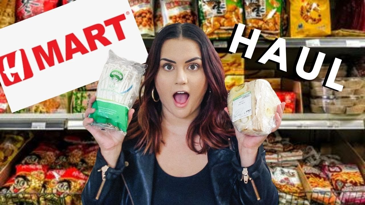 Everything I Bought at the Asian Market VEGAN HAUL