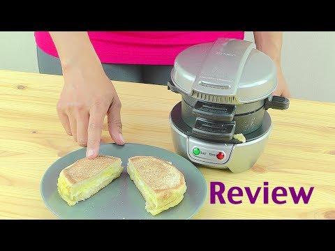 Hamilton Beach Breakfast Sandwich Maker Review Youtube