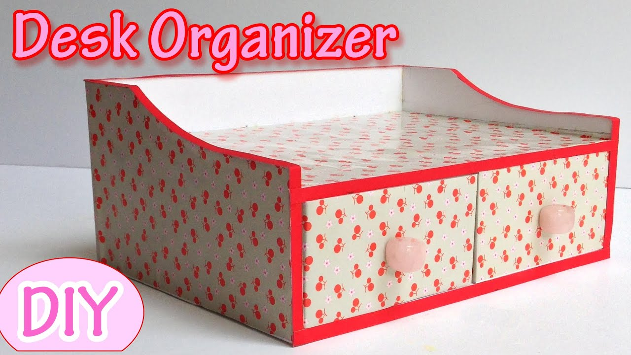 How To Make A Desk Organizer Ana Diy Crafts You
