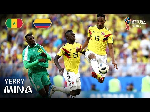 Yerry MINA Goal - Senegal v Colombia - MATCH 48