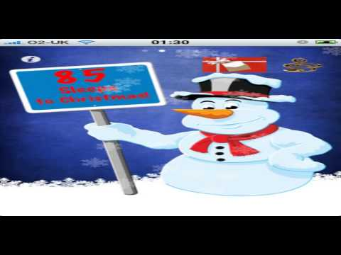 christmas countdown for facebook - YouTube