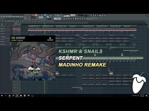 KSHMR & Snails - The Serpent  (Original Mix) (FL Studio Remake + FLP)