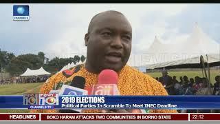 Political Parties In Scramble To Meet INEC Deadline