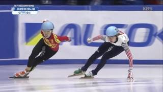 [2017 삿포로 동계 아시안게임] 쇼트트랙 여자 500m 결승 - 심석희 출전