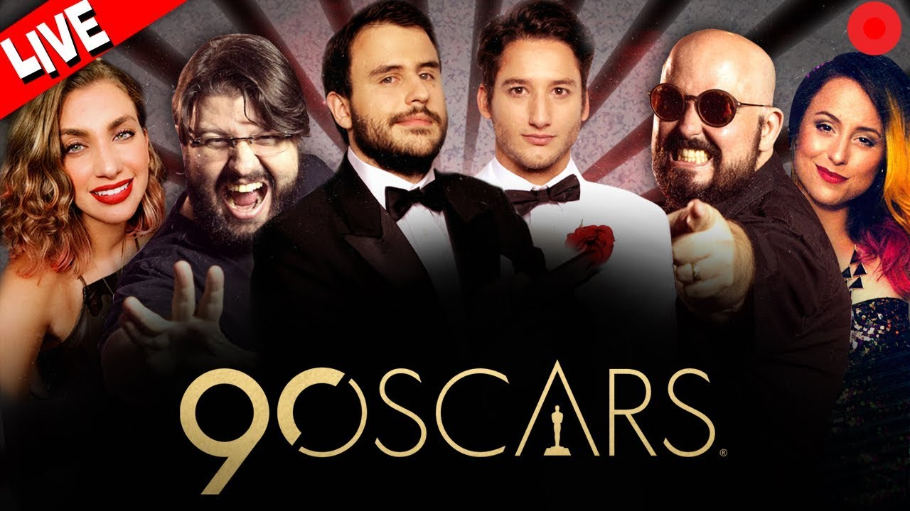 Resultado de imagem para Oscar 2018 - TNT - Pipocando