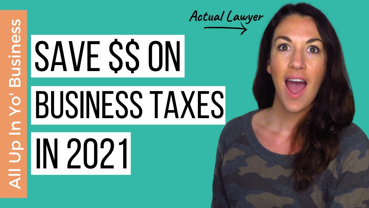 The ONE Thing You Can Do to Save THOUSANDS on Business Taxes | Save Money on Taxes in 2021