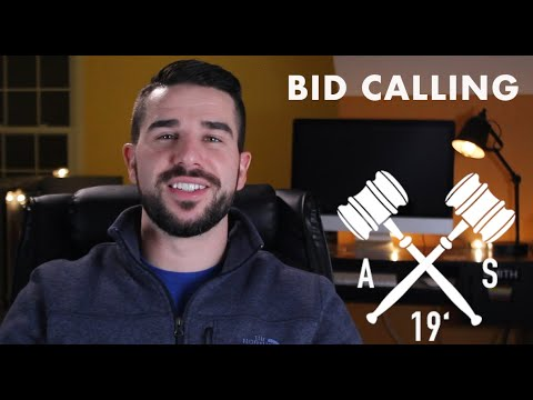 Welcome to Auction Syndicate: Auctioneering Practice