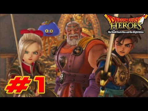 Dragon Quest Heroes: The World Tree's Woe and the Blight Below - Walkthrough Part 1 Arba [HD]