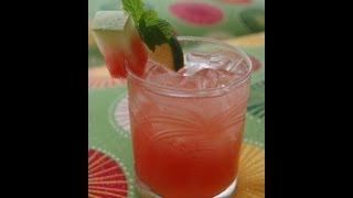 {cocktail Recipe} Watermelon Gin & Tonic By Cookingforbimbos.com