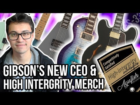 Gibson's New CEO, High Intergrity Stickers, Epiphone Bonamassa ES-335 & Reverend Guitars | ASKgufish