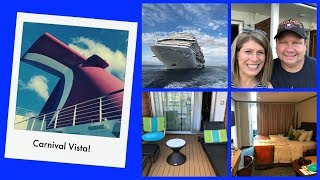 Carnival Vista 1 | Boarding the Ship | Finding our Havana Cabana | Havana Pool & Bar!
