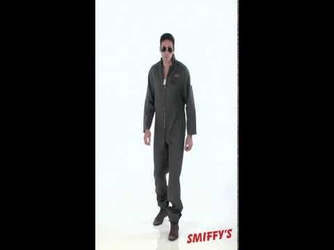 US Aviator Jumpsuit Adult Costume - Karnival Costumes TV