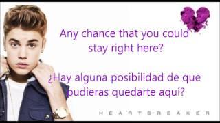 Justin Bieber- Heartbreaker Oficial letra (Español- Inglés)