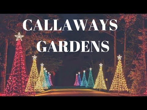 Melhor lugar do mundo no Natal | Callaway Gardens | Fantasy in Lights 2017 | National Geographic