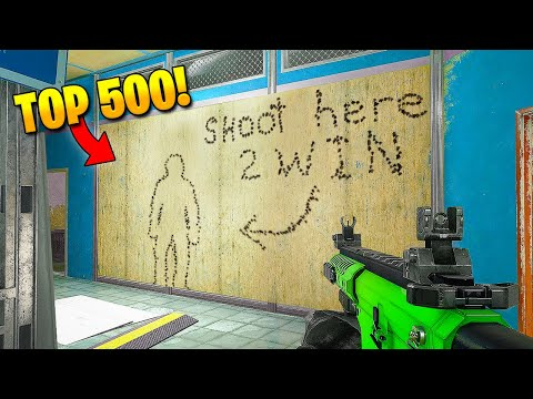 TOP 500 FUNNIEST FAILS IN RAINBOW SIX SIEGE