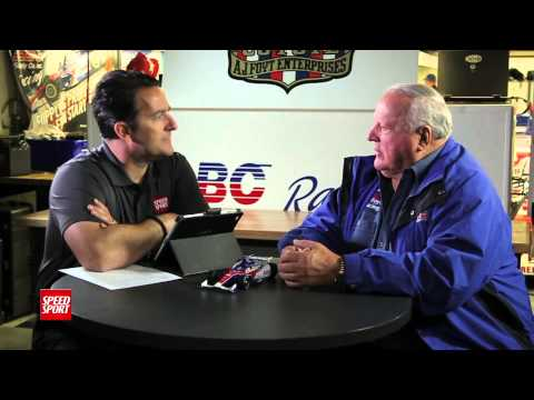 A.J. Foyt Interview - SPEED SPORT Magazine Episode 1 Part 3 - MAVTV