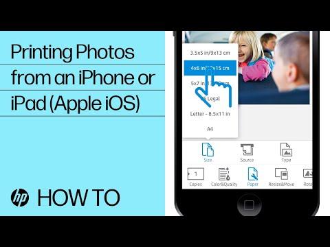 Printing Photos from an iPhone or iPad (Apple iOS) | HP Printers | HP