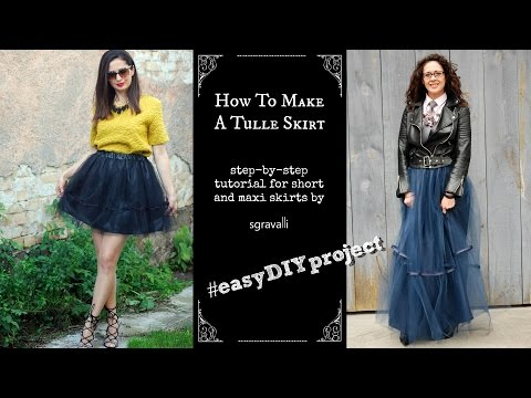 How To Make Tulle Skirt For Women Easy Diy E Ant Look Styling Ideas Included