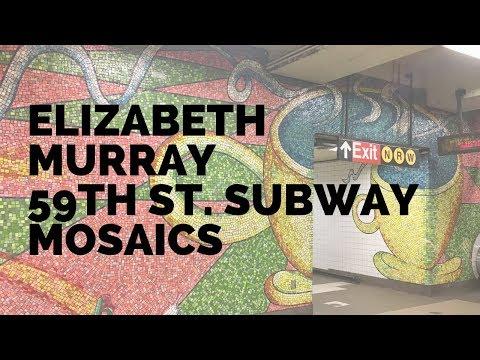 Elizabeth Murray 59th Street Subway Mosaic Visit