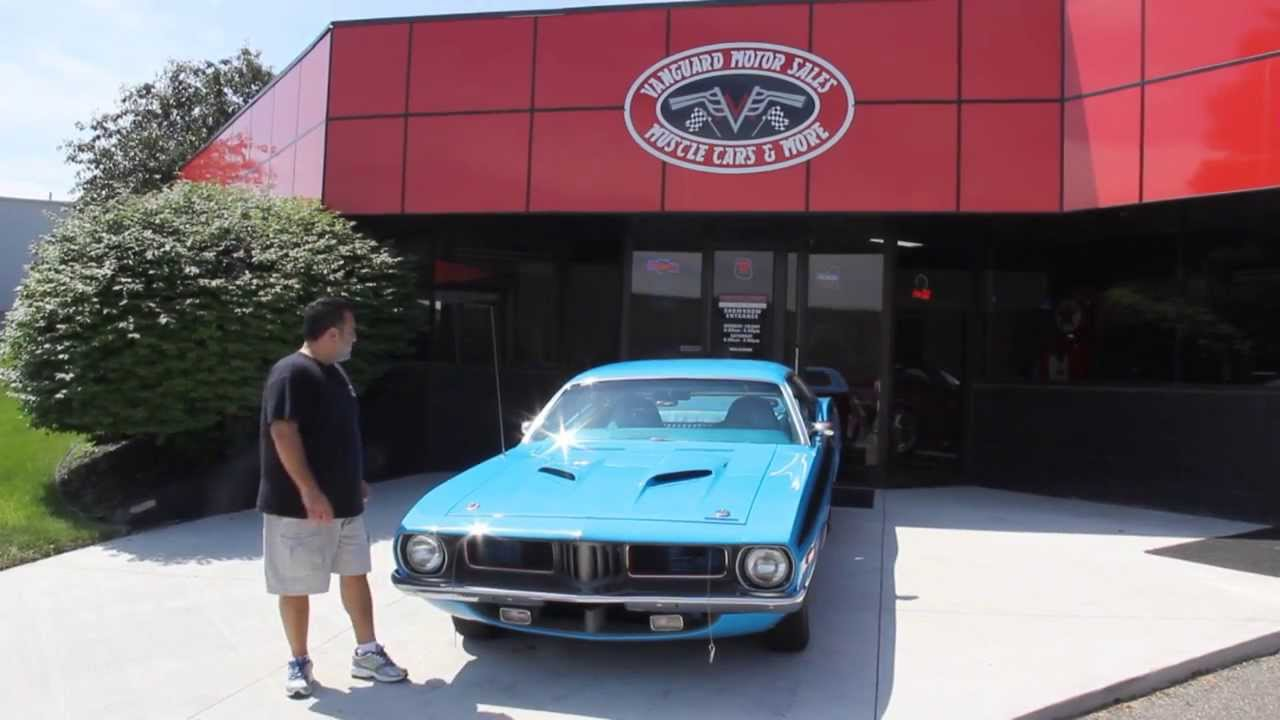 1972 plymouth barracuda 340 classic muscle car for sale in for Vanguard motors for sale