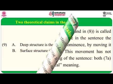 Transformational Grammar and