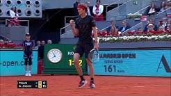 Alexander Zverev defeats Thiem to win first Madrid title   Mutua Madrid Open 2018 Final Highlights