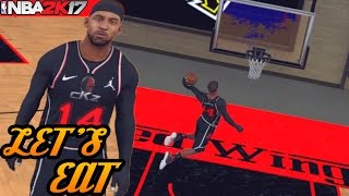 NBA 2K17 Pro Am: Getting Creative With The Sharpshooter! Different Lineup
