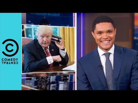 Trump's Nighttime Phone calls With Sean Hannity | The Daily Show With Trevor Noah
