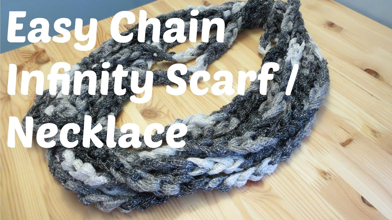 chains long scarf metal dark silver s products necklace fashion new gunmetal mesh women chunky gray gold rhinestones fabric infinity