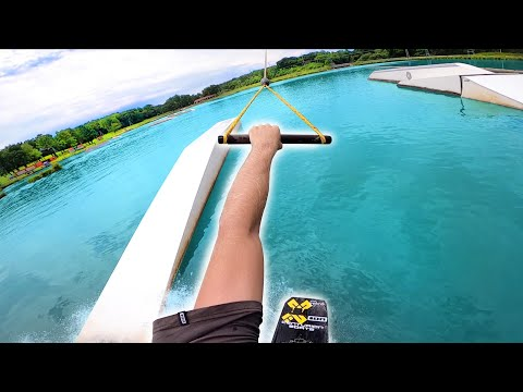 WAKEBOARDING AT WEST ROCK WAKE PARK!!!