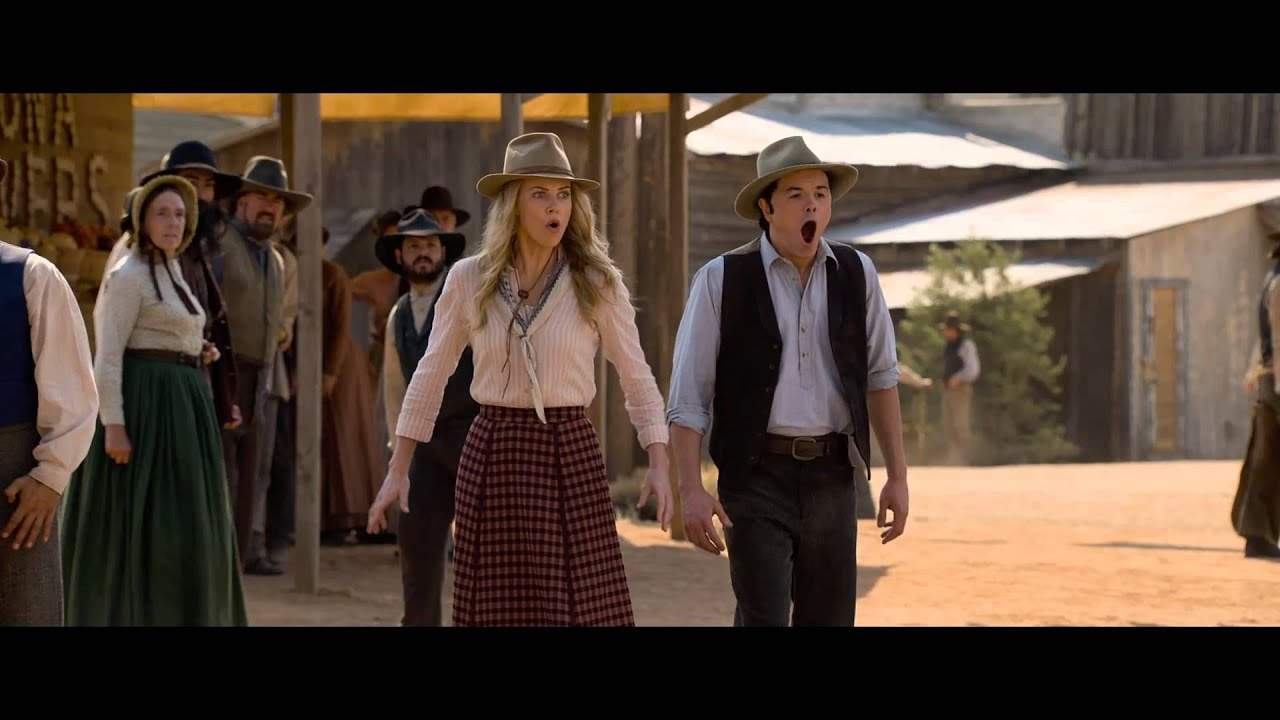 A Million Ways To Die In The West - de nieuwe red band trailer!
