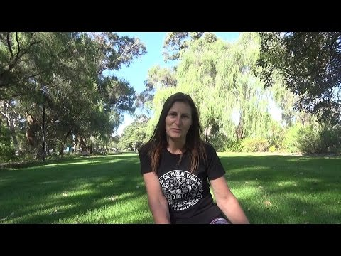 Interviewing  Alex - Vegan activist in Perth - Gets a volunteer award - Facing her fears - Reiki