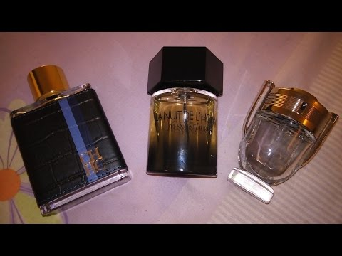 Three Sweet/Night Out Fragrances (Ch men+invictus+la Nuit)