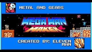 Mega man maker - Metal and gears