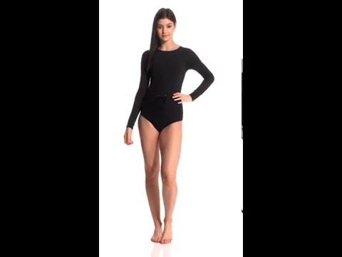 1b174e5717 Roxy Salty Casual Crochet Long Sleeve One Piece Swimsuit | SwimOutlet.com -  YouTube