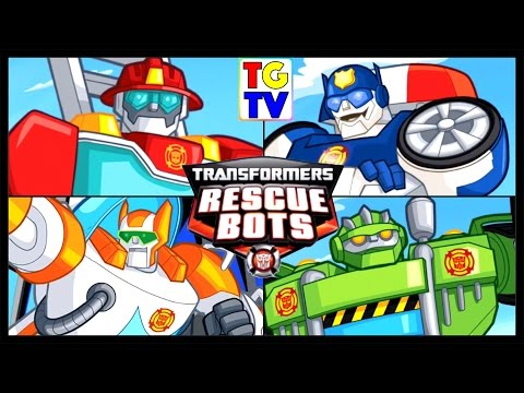 Transformers Rescue Bots Hero Adventures