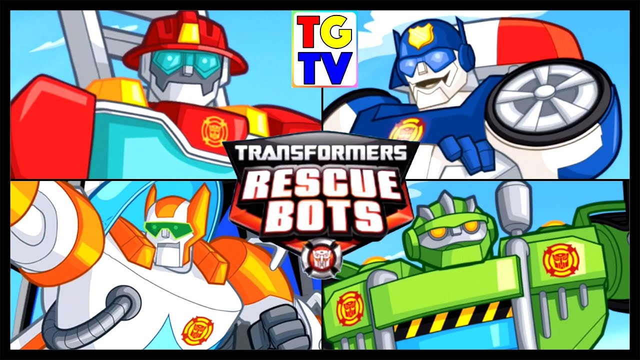 Transformers Rescue Bots Hero Adventures Youtube
