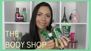 RESEÑA DE PRODUCTOS THE BODY SHOP - TEA TREE PARA PIELES GRASAS / CON GRANITOS | MARIEBELLE
