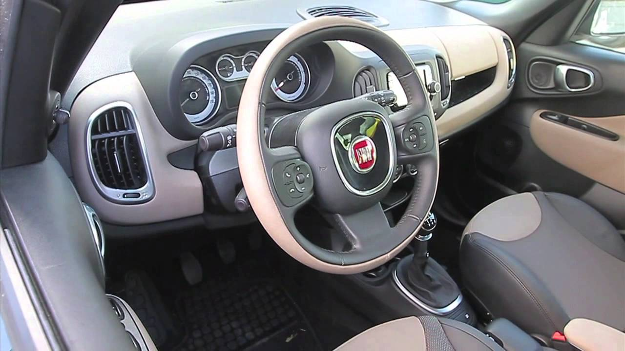 fiat 500l living 1 6 multijet lounge gentemotori youtube. Black Bedroom Furniture Sets. Home Design Ideas