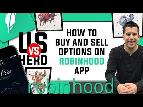 How To Buy And Sell Or Trade Options On Robinhood App