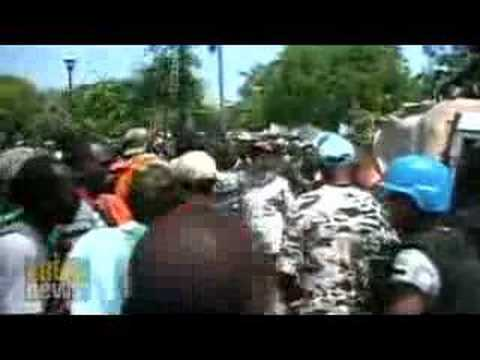 Food riots grip Haiti
