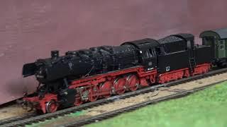 HO train compositions 1960 Rheingold 1965 Eilzug E658 Hagen  Bestwig 1969 N1864 Hof  Barmberg
