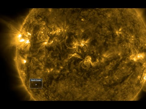 Deadly Quake, CME, Magnetic Sun | S0 News Feb.6.2016